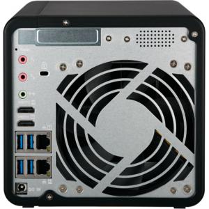 NAS Qnap TS-453B, Intel Celeron J3455 1.5GHz, 8GB DDR3L, 4 Bay, 5 x USB 3.0, 1 x USB Tip C, 2 x LAN, 2 x HDMI1