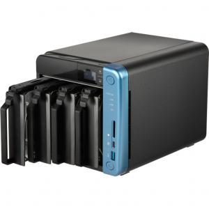 NAS Qnap TS-453B, Intel Celeron J3455 1.5GHz, 8GB DDR3L, 4 Bay, 5 x USB 3.0, 1 x USB Tip C, 2 x LAN, 2 x HDMI2