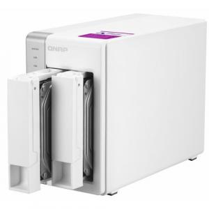 NAS QNAP 2-Bay TurboNAS, SATA 6G, 1,7GHz 4-Core, 4GB RAM, 2x GbE LAN, 3xUSB 3.05