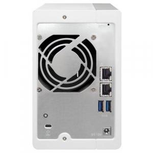NAS QNAP 2-Bay TurboNAS, SATA 6G, 1,7GHz 4-Core, 4GB RAM, 2x GbE LAN, 3xUSB 3.03