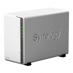 Network Attached Storage Synology DiskStation DS218j cu procesor Marvell Armada 385 88F6820 Dual Core 1.3 GHz, 512MB DDR3, 2-Bay, 1 x Gigabit LAN, 2 x USB 3.0 (134004 ) [1]