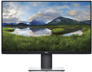 "Monitor REFURBISHED LED IPS Dell 24"", Full HD, Display Port, Flicker Free, Pivot, Negru, P2419H0"