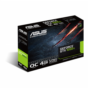 Placa video Asus GeForce GTX1050TI, 4GB GDDR5, 128-bit LP2