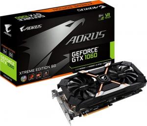 Placa video Gigabyte Aorus GeForce GTX 1060 Xtreme, 6GB GDDR5, 192bit0