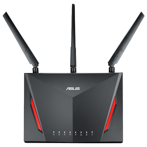 Router Wireless ASUS RT-AC2900 Dual-band (2.4 GHz / 5 GHz) Gigabit Ethernet Black2