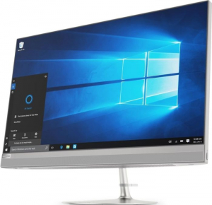 """Sistem All-In-One Lenovo IdeaCentre AIO 520-27ICB, 27"""" multi-touch, i5-8400T, 8GB RAM DDR4, HDD 1TB+256GB SSD, Windows 10 Home3"""