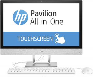 Sistem All-in-one PC HP Pavilion 24-r066ng AiO 2PT95EA Intel Core i7 7700T, 16 GB RAM, 1 TB SSD, Windows 101
