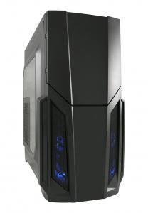 Sistem Desktop cu procesor AMD Ryzen 5 2600 3.4GHz Hexa-Core , 8GB DDR4, 240GB SSD, PNY GTX 960 2G/128/PCI 3.0, Carcasa Gaming 982B0