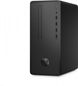 Sistem Desktop PC HP 290 G2 MT cu procesor Intel® Core™ i5-8500, Coffee Lake, 4.1GHz, 8GB DDR4, 256 SSD, DVD-RW, Intel® UHD Graphics 630, Windows 10 Profesional, Negru1