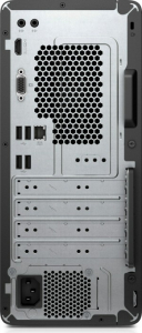 Sistem Desktop PC HP 290 G2 MT cu procesor Intel® Core™ i5-8500, Coffee Lake, 4.1GHz, 8GB DDR4, 256 SSD, DVD-RW, Intel® UHD Graphics 630, Windows 10 Profesional, Negru3