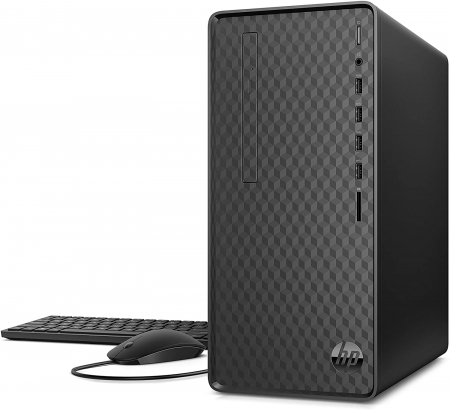 Sistem Desktop PC HP M01-F1009ng  Intel® Pentium® G6400, 8 GB DDR4, 512 GB PCIe® NVMe™ M.2 SSD, NVIDIA® GeForce® GT 10300