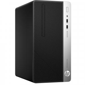 Sistem Desktop PC HP ProDesk 400 G4 MT,  Intel® Core™ i5-7500 3,4 GHz, 8 GB, 256 GB, DVD-RW, Windows 10 Pro1