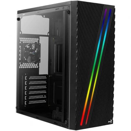 Sistem GAMING Aerocool Streak RGB cu procesor Intel® Core™ i3-9100F Coffee Lake, 4.2GHz, 16GB DDR4, 480GB SSD, AMD RADEON RX580 8GB GDDR5 [4]