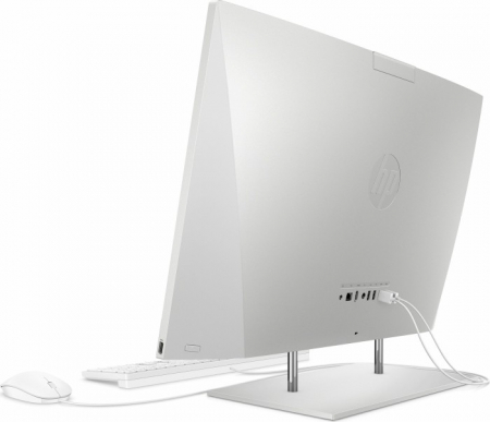 Sistem HP All-in-One 27-dp0025ng natural Silver 68,6 cm (27 inch) Intel® Core™ i7-10700T 8 GB 512 GB SSD Intel UHD Graphics 630 Windows® 10 Home3