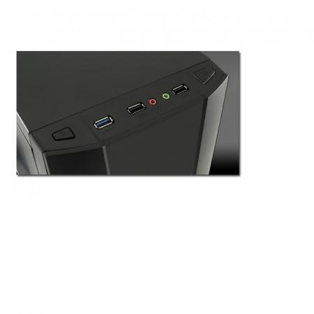 Sistem PC Gaming Intel Core i5-6500 , 8GB DDR4 , 240 GB SSD + 1 Tb HDD , AMD RX 580 8GB4