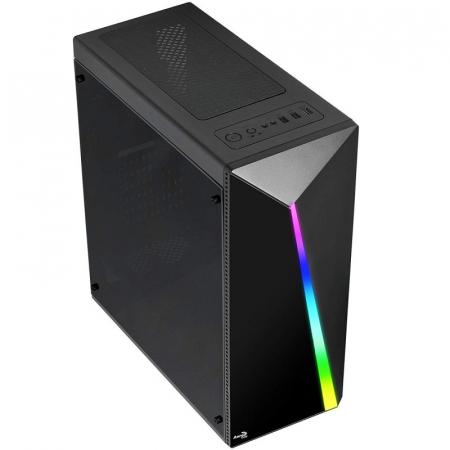 Sistem PC Gaming Aerocool Shard Intel Core i5-8500 , 16GB DDR4 , 240 GB SSD si 1 TB HDD , RTX 2060 SUPER VENTUS [3]