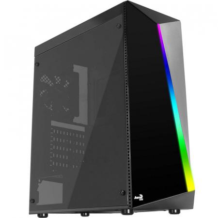Sistem PC Gaming Aerocool Shard Intel Core i5-8500 , 16GB DDR4 , 240 GB SSD si 1 TB HDD , RTX 2060 SUPER VENTUS [0]