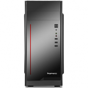 Sistem PC Tower Segotep  Intel Core I3 3.7 GHz , Memorie RAM 8GB, Capacitate stocare 240Gb SSD DVD-R3