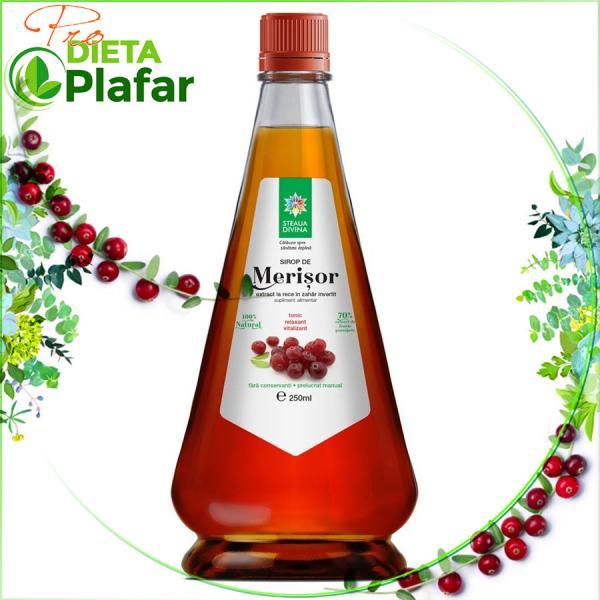 Sirop de merișoare, afine roșii, cranberries, tratament naturist pentru infecții urinare.