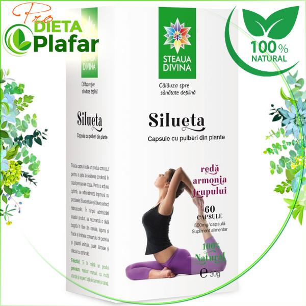 Silueta capsule este un produs NATURAL pentru slăbire cu plante medicinale