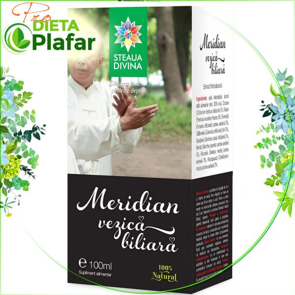 Meridian Vezica biliară este un tratament naturist bazat pe acțiunea sinergică a mai multe plante medicinale special alese.