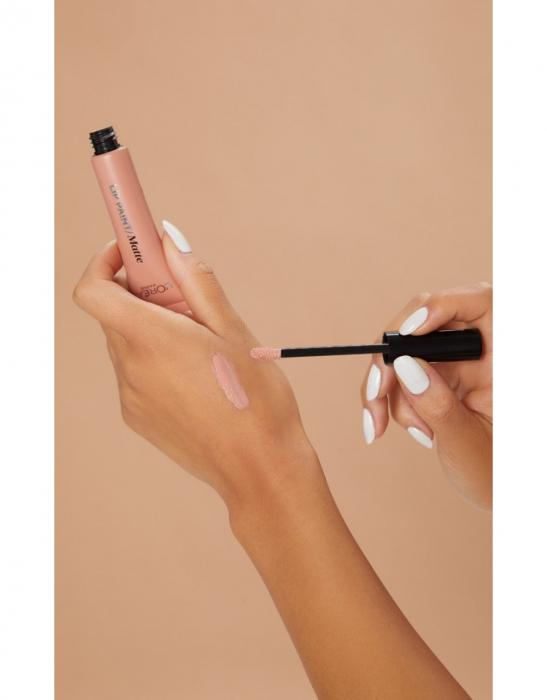 Ruj lichid L'Oreal Paris Infallible Lip Paint Matte, 208 Off-White, 8 ml-big