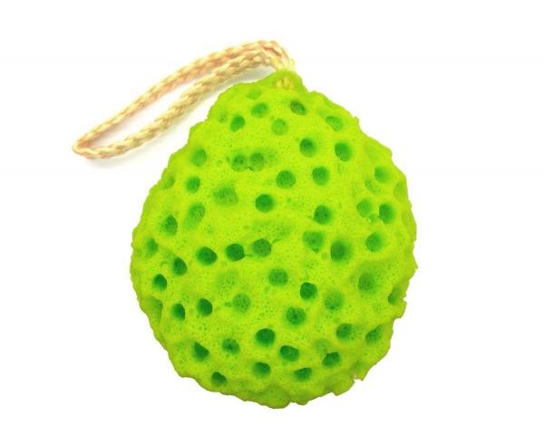 Burete Pentru Exfolierea Pielii W7 Zen Spa Sponge - Green-big