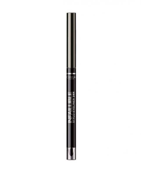 Creion de Ochi Rezistent La Transfer L'OREAL Infallible Stylo Eyeliner 24 Hr - 312 Flawless Grey-big