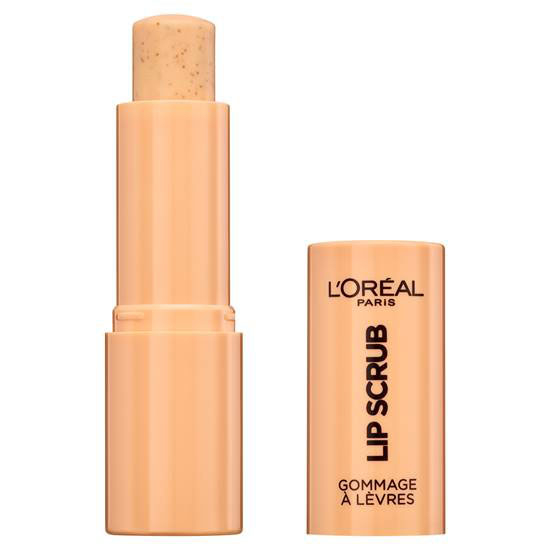 Exfoliant pentru buze L'Oreal Paris Spa Lip Scrub, 03 Peach Twist, 4 g-big