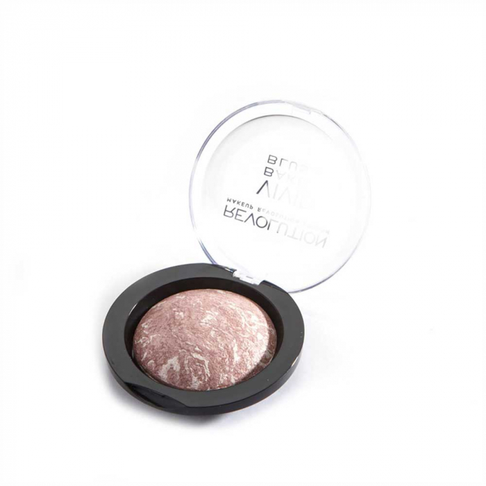 Fard de Obraz Makeup Revolution Baked Blusher - Hard Day, 6g-big