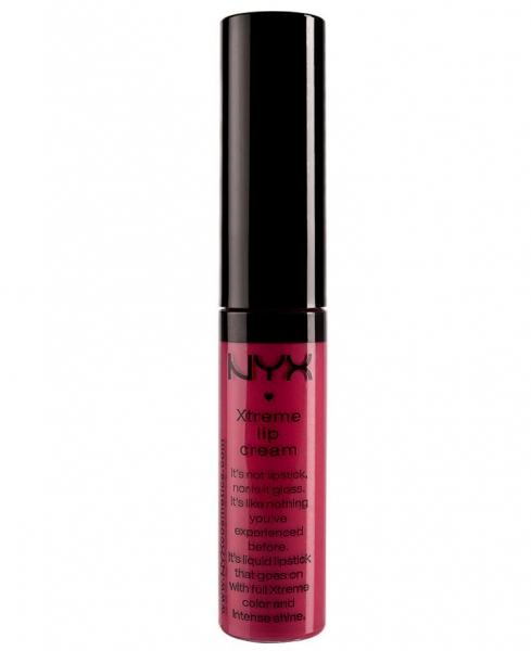 Gloss Nyx Professional Makeup Xtreme Shine Lip Cream - Strawberry Jam, 7 ml-big