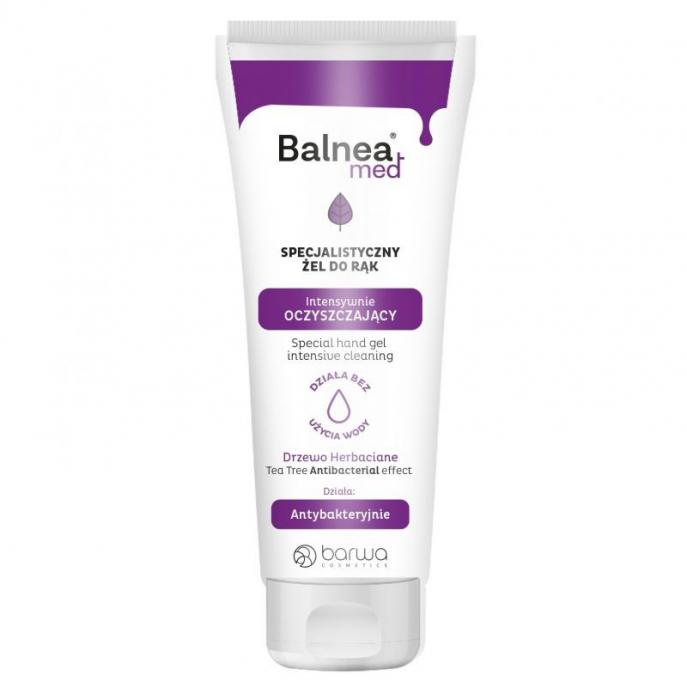 Gel de maini antibacterian, Balnea Med, Barwa Cosmetics, 60 ml-big