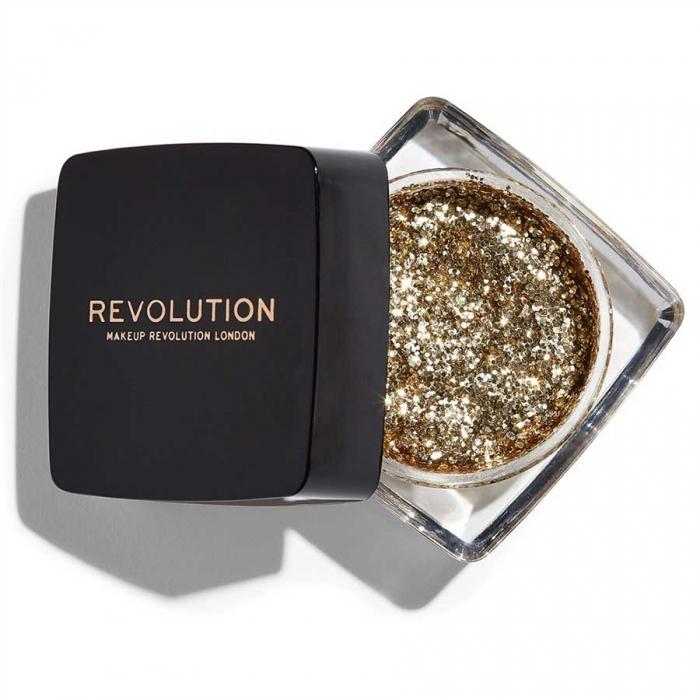 Glitter Gel Makeup Revolution - Glitter Paste, Power Hungry-big