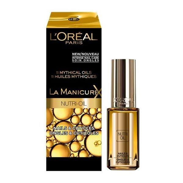 Tratament Unghii si Cuticule L'Oreal Nail Treatment La Manicure Nutri Oil-big