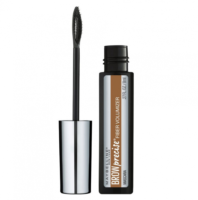 Mascara pentru sprancene Maybelline Brow Precise Fiber Filler, Dark Blonde, 8 ml-big