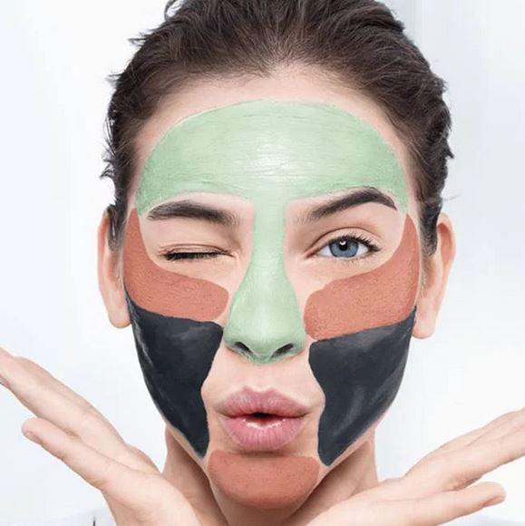 Kit 3 Masti pentru Ten L'Oreal 3 Pure Clays Multi-Masking Face Mask Play Kit, 3 x 10 ml-big