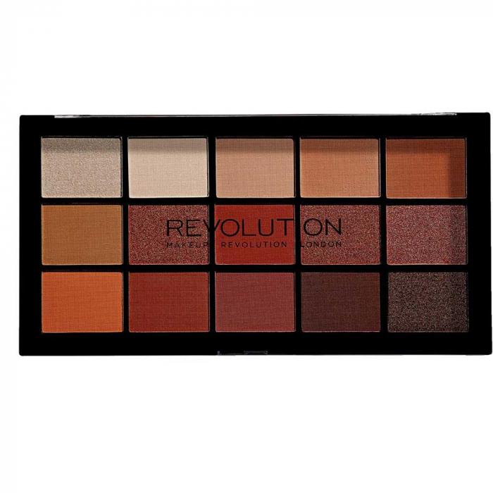 Paleta de farduri Makeup Revolution - Re-Loaded Palette - Iconic Fever, 15 Nuante-big
