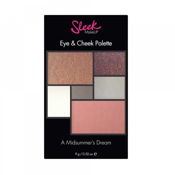 Paleta pentru machiaj SLEEK MakeUP Eye & Cheek Palette - 031 A Midsummer's Dream, 9g-big
