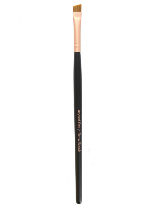Pensula profesionala unghiulara pentru sprancene ROYAL Angled Eye/Brow Brush-big