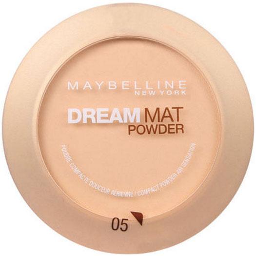 Pudra compacta MAYBELLINE Dream Mat Powder, 05 Apricot Beige, 9 g-big