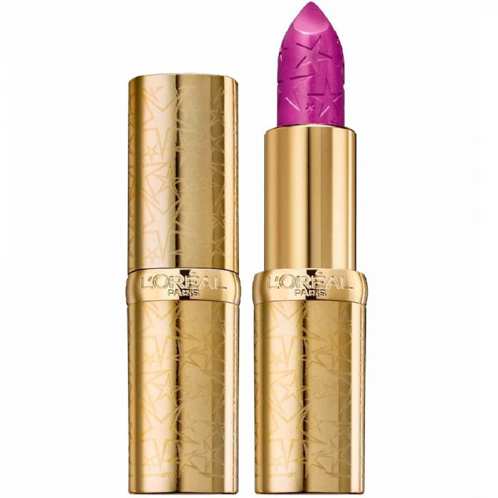 Ruj L'Oreal Color Riche Lipstick, Starlight in Paris Collection, 488 Close at Night-big