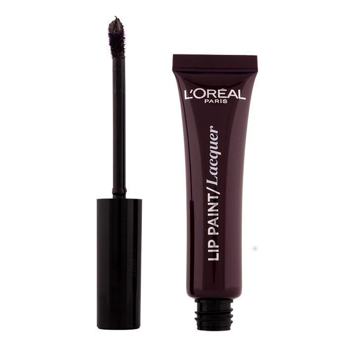 Ruj Lichid L'oreal Infallible Lip Paint Lacquer - 107 Dark river, 8 ml-big