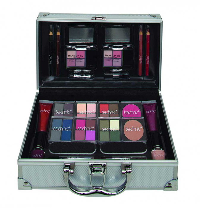 Valiza completa pentru Machiaj Technic Colour Collection Case 997241-big