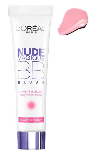 Fard de obraz iluminator L'OREAL Nude Magique BB Blush - Universal Rosy, 15ml-big