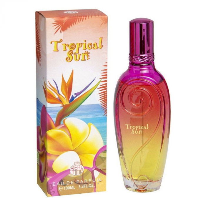 Apa De Parfum Real Time Tropical Sun Ladies Edp, 100 Ml