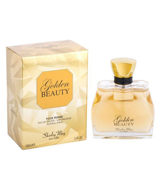 Apa de Toaleta Shirley May Deluxe, Golden Beauty, dama, EDT, 100 ml-big