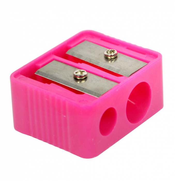 Ascutitoare dubla creioane machiaj ROYAL Cosmetic Duo Pencil Sharpener-big