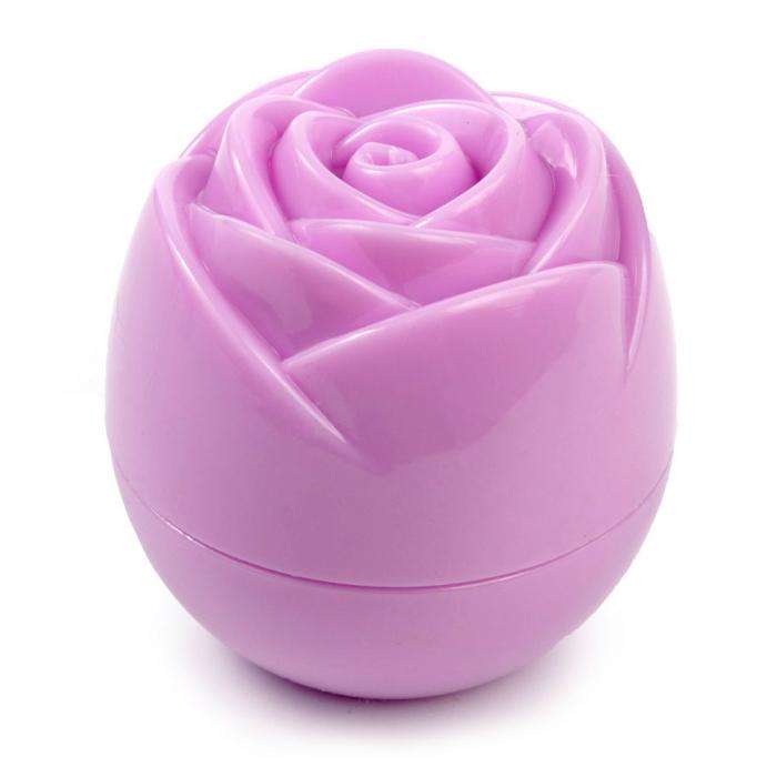 Balsam de buze Trandafir, Nuanta Liliac-big
