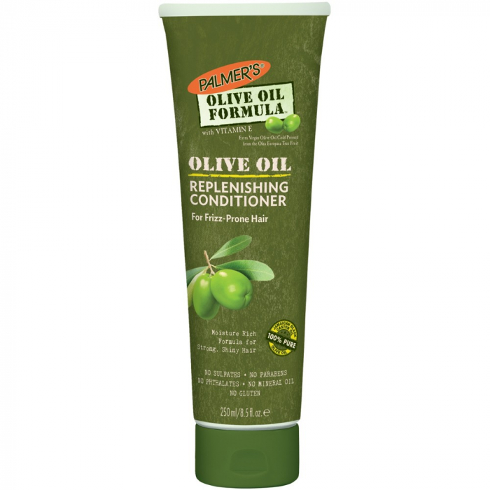 Balsam reparator intensiv par fragil, cret sau vopsit PALMER'S Olive Oil Formula, Vitamina E si Ulei de masline extravirgin, 250 ml-big