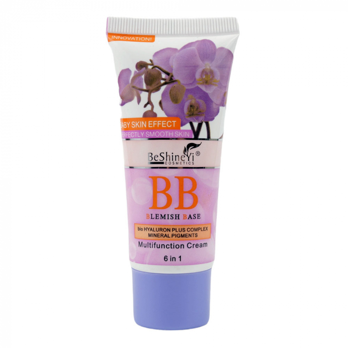 Crema BB pentru ten, multifunctionala, Blemish Base Baby Face Effect cu pigmenti minerali si acid hialuronic, 40 ml-big